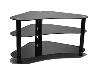 Buying Guide of  ValuFurniture UM7 Curved  Glass TV Stand