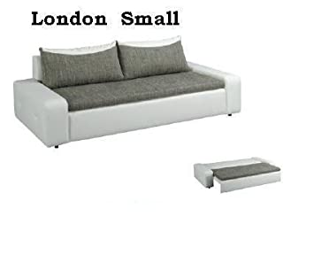 2/3-Sitzer London Small Sofa Couch mit Bettfunktion