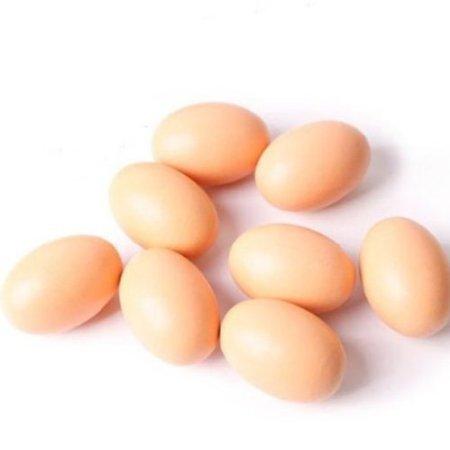 EQLEF® 10pcs Artificial Nest Eggs Fake Food Dummy House Decor (Decorative Chicken Eggs compare prices)