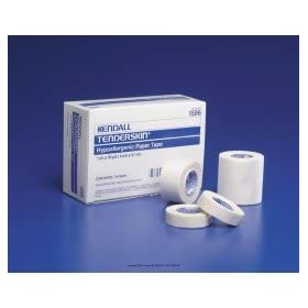 tenderskintm hypoallergenic paper tape size 1 2 x 10 yd. Black Bedroom Furniture Sets. Home Design Ideas