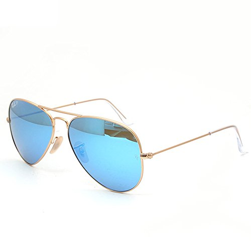 Ray-Ban - Occhiali da sole Aviator Large Metal MOD. 3025 SOLE112/69 Aviatore, Gold (gold)
