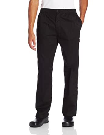 Dickies Men's The Classic Trouser Chef Pant, Black, X-Small