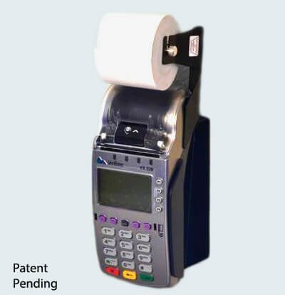 VX520 Wall Mount with 230′ Thermal Paper Adapter Fits Contactless and Non-Contactless