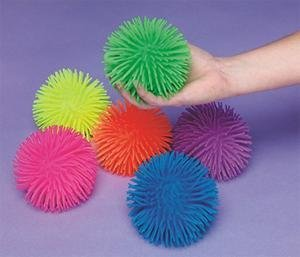 Find Bargain Rhode Island Novelty Puffer Balls (Set of 6)