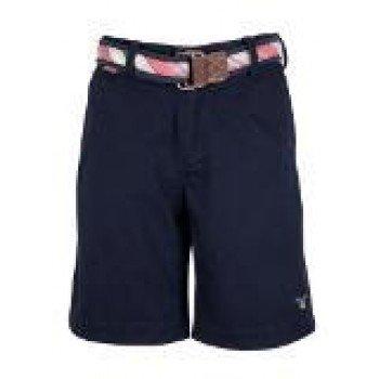 Gant Mens Navy Belted Vintage Shorts (34)