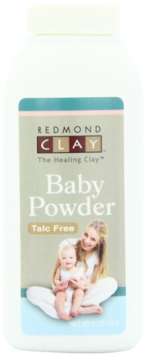 Redmond Clay Baby Powder, 3 Ounce