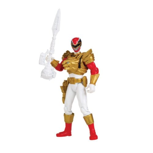 Power Rangers, Megaforce, Ultra Red Ranger Action Figure, 4 Inches - 1