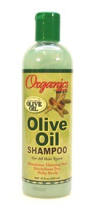 Africa's Best Organics Olive Oil Extra Virgin Shampoo 355 ml (Case of 6) (並行輸入品)
