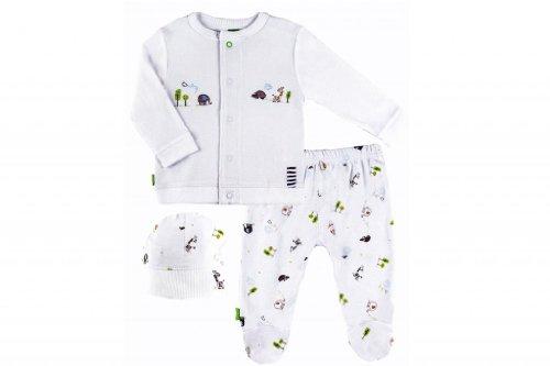 Kushies Organic Baby Cloud 9 Take Me Home Set Preemie White