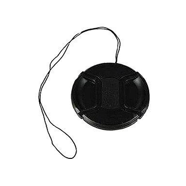 Peach Bevik 37Mm Lens Cap For Sony Cx550E Cx180E Xr160E Pj10E Cx700E Xr550E With Holder Leash Strap