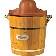 Old Fashioned Ice Cream Maker-VINTAGE ICE CREAM MAKER