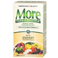 American Health More Than A Multiple With Energy Essentials Tablets by American Health
