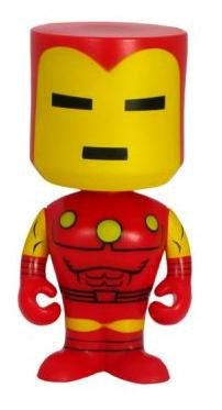 Picture of Funko Bobble Head Figure (Nodniks) - Marvel - IronMan (B00322UE8Q) (Marvel Action Figures)