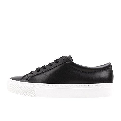 rockamora-louis-chaussures-en-cuir-low-w-noir-blanc-41