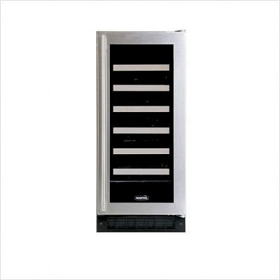 Luxury 30-Bottle Full Overlay Wine Refrigerator Hinge: Left