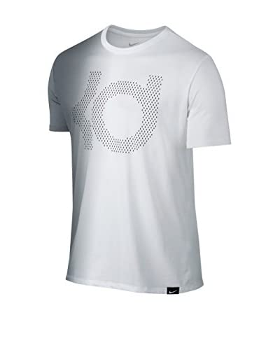 Nike Camiseta Manga Corta Kd Gradient Tee Blanco / Gris / Blanco