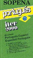 Iter 2000 Diccionario Portugues-Español / Espanhol-Portugues
