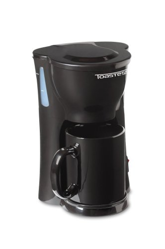 Toastess TFC-326 Single Cup Coffee Maker Black