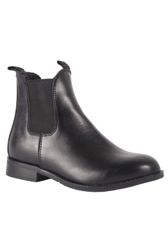 Kids Noma Sturdy Horse Riding Chelsea Ankle Boots with Grip Sole