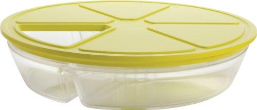 Trudeau Swivel 3-in-1 Condiment Set