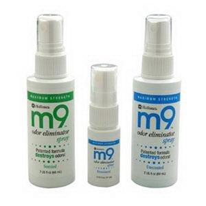 Hollister M9TM Odor Eliminator Spray 8 oz - 6 ct.