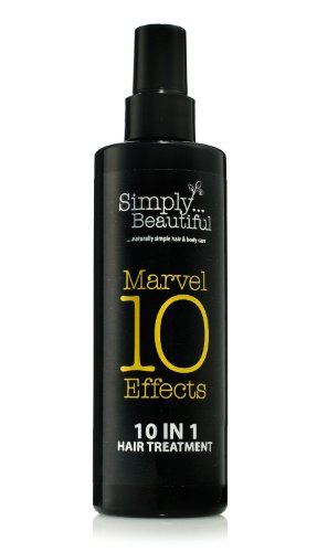 10 In One Hair Treatment provides 10 Miracle Effects In One Bottle - Heat Protection, Deep Conditioning, Repairs Damaged Hair, Prevents Split Ends, Hydrates Hair, Reduces Frizz and Much More