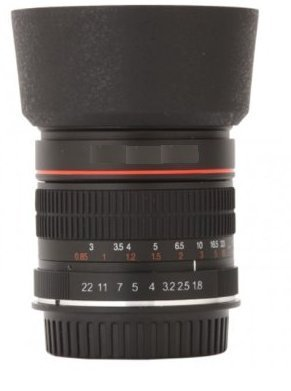 HDStars Medium Telephoto Manual Focus 85mm f/1 8 Portrait Lens - Import It  All