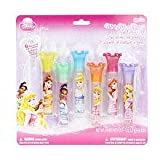 Disney Princess Make Me a Princess Lip Gloss Set 6 Flavored Lip Glosses