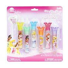 Disney Princess Make Me a Princess Lip Gloss Set 6 Flavored Lip Glosses by disney