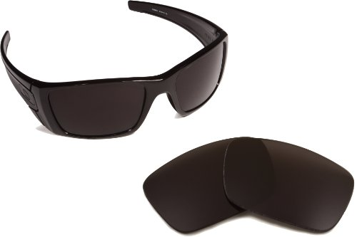 New SEEK OPTICS Replacement Lenses for Oakley FUEL CELL - Advanced Black