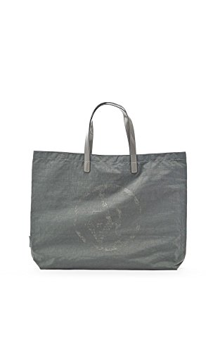 ARMANI JEANS NYLON SHOPPING BAG C522XU4-2T GRIGIO - GREY