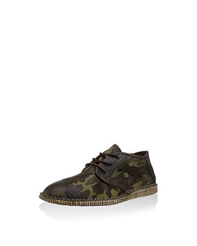 A.S.98 Zapatos de cordones Verde Militar