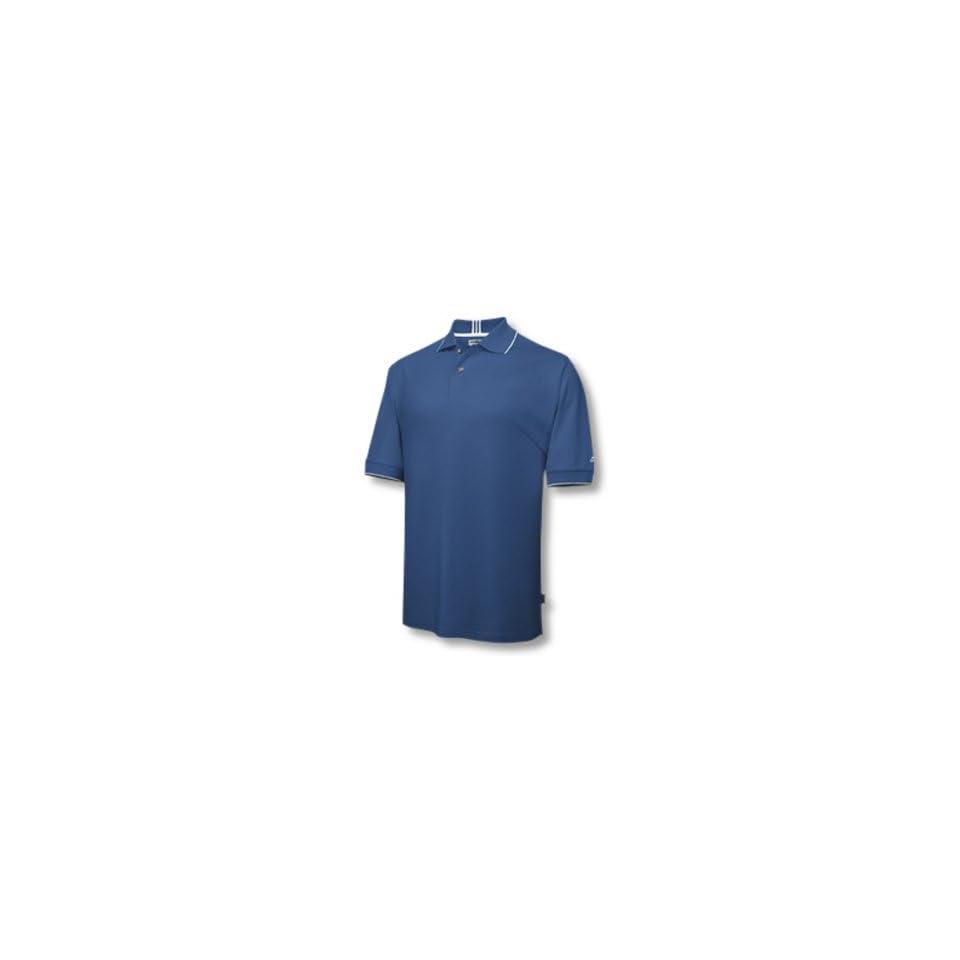 Adidas 2007 Mens ClimaLite Stretch Jersey Polo Shirt   Royal / White   123169