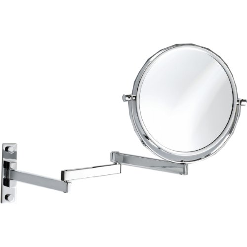Lovely Decor Walther SPT Wall Mounted Cosmetic Mirror Chrome