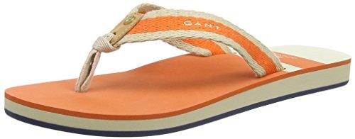 GANTSt Bart - Infradito Donna , Arancione (Orange (orange G49)), 42