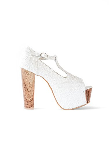 Dollie White, 40, White - Scarpe Decolleté - Martina Gabriele shoes