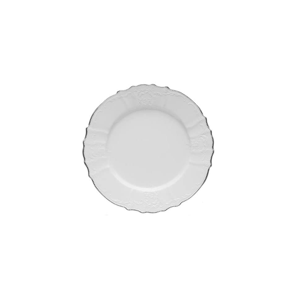 Anna Weatherley Simply Anna Platinum Dinner Plate 10 In