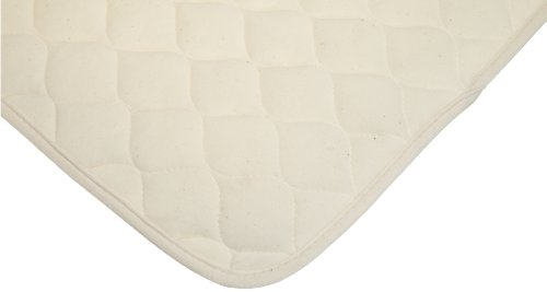 American Baby Company Organic Waterproof Quilted Lap and Burp Pad Cover, 2 Pack