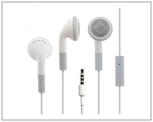 Bonamart ® Stereo Earphone Headset Headphone For Apple Iphone 4 3G Ipod Touch With Mic Qh