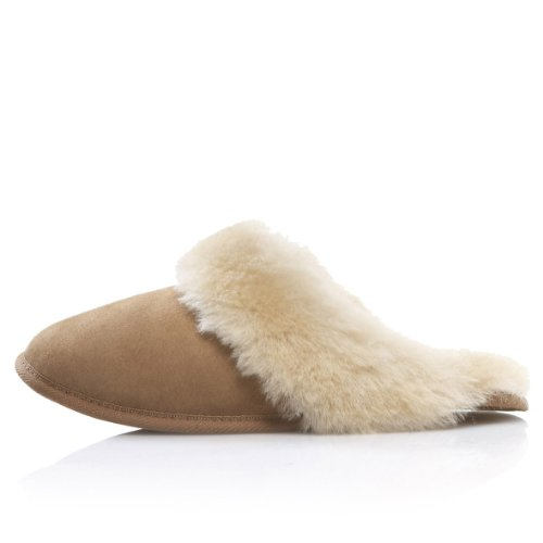 Cheap Dominion 'Preon' Women's Indoor Shearling Slide Slippers (B003YYI2BS)