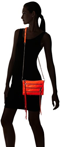 REBECCA MINKOFF 瑞贝卡·明可弗 Mini 5-Zip 女士单肩挎包 $77.99+$4.5直邮中国(需用码,含税约¥580)图片