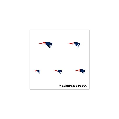 NEW ENGLAND PATRIOTS OFFICIAL LOGO FINGERNAIL TATTOOS - 1