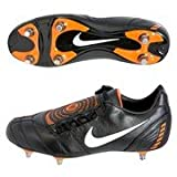 Nike Total 90 Shoot II Extra Soft Ground Football Boots - Black/White/Orange Blaze