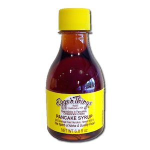 【Eggs'n things】 Original Pancake Syrup 6.8oz