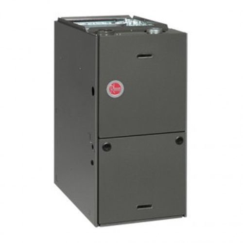 Gas Furnace 100K BTU 80% High Efficiency Rheem Propane kit available RGPS10EAMER
