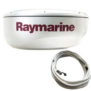 Raymarine RAY-T70167 RD424D 4KW 24-Inch Digital Radome with 10 Meter Raynet Cable