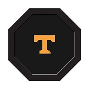 University of Tennessee Poker Table Felt - 43 Round - T Logo Black by NCAA