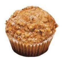 Prairie City Bakery Coffee House Banana Nut Muffin -- 48 Per Case.
