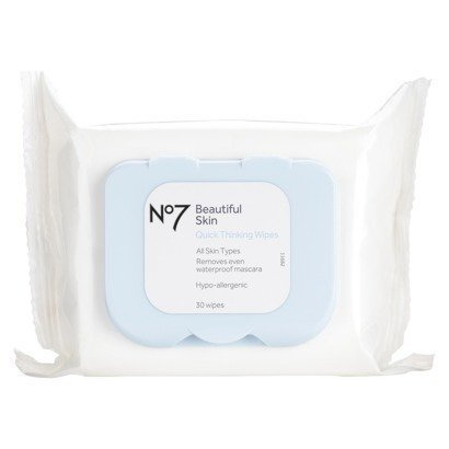 Boots No7 Quick-Thinking 4-in-1 Wipes 30 pk. (No 7 Quick Thinking Wipes compare prices)