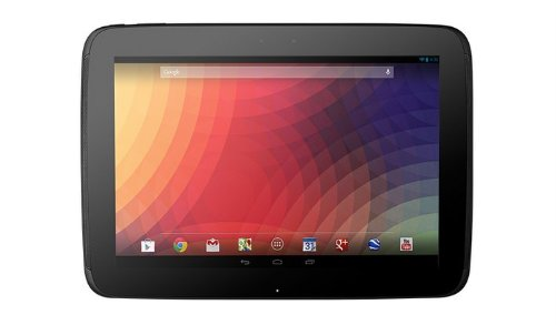 The New Google (Samsung) Nexus 10 10-inch Andriod 4.2 (Jelly Bean) Tablet 32GB SSD 2560x1600 Pixel World Highest Resolution for 300 ppi WQXGA (WiFi Only) 2GB Ram Micro USB Micro HDMI Accelerometer Compass Ambient light Gyroscope Barometer GPS
